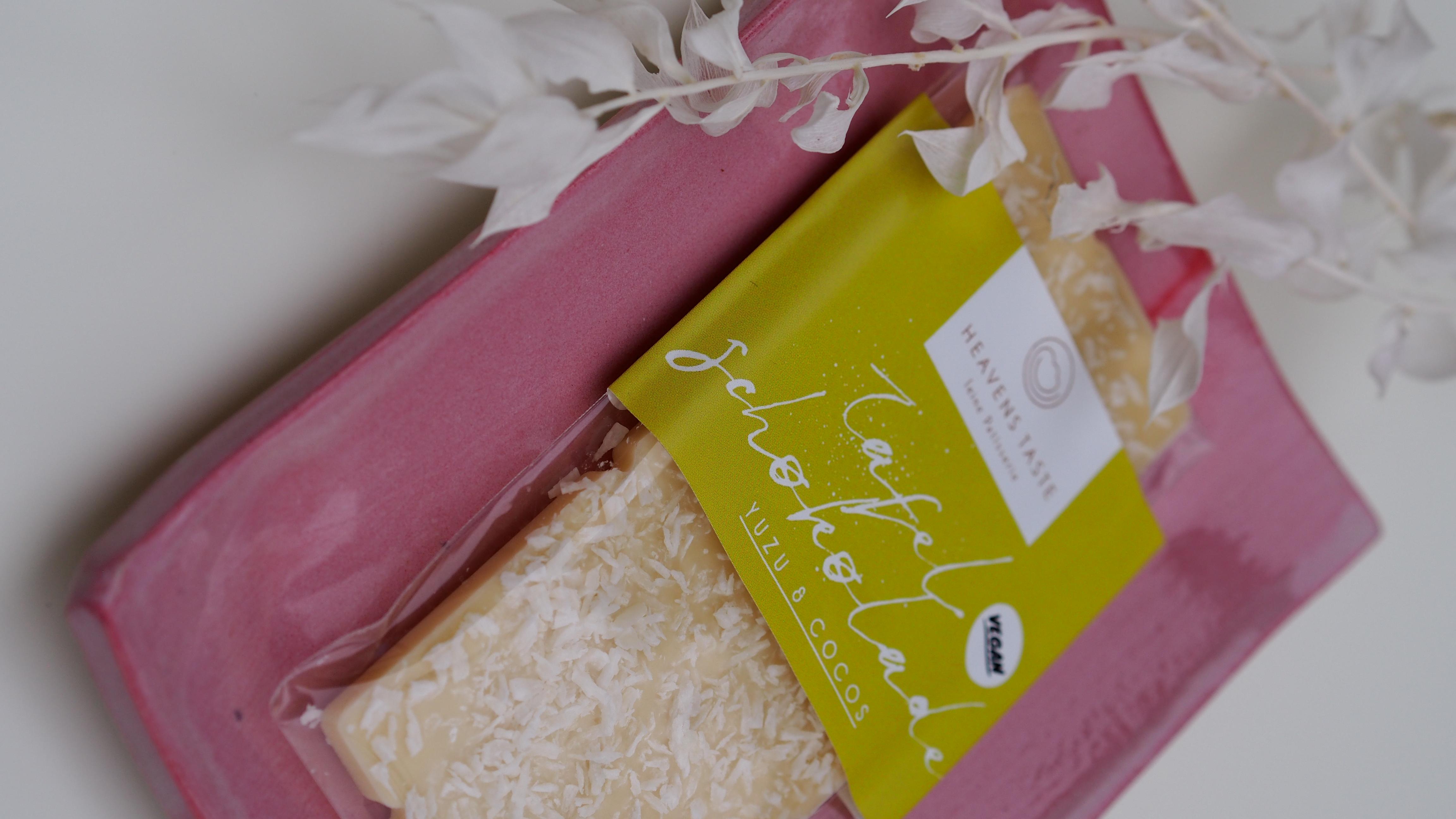 Tafelschokolade Yuzu & Cocos VEGAN, 50 Gramm