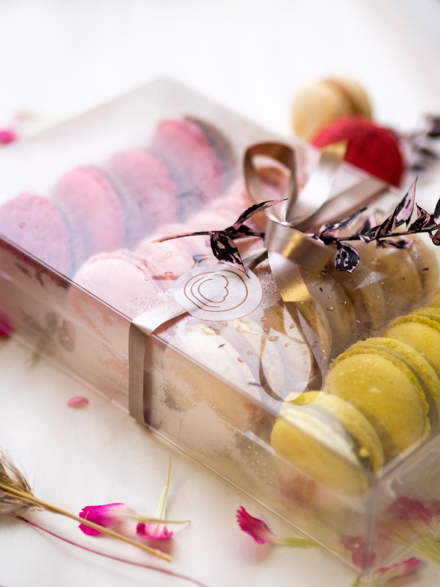 Macarons 16 er Box, 4 verschiedene Sorten Mai 2021